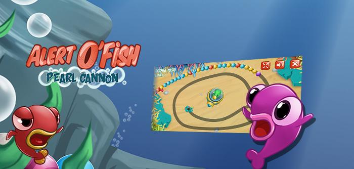 Aide les Fish à collecter des Perles !