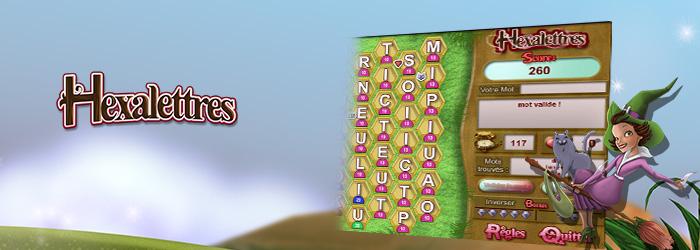 <center>Faîtes des mots avec des cases adjacentes de lettres ! Attention chaque lettre a sa valeur ! Faites vite !